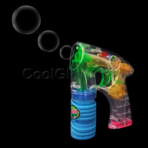 LED 6 Inch Bubble Gun