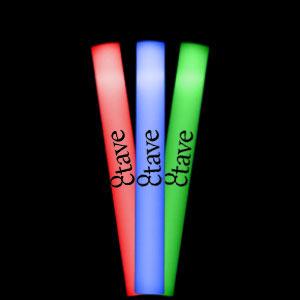 LED Foam Stick Baton Supreme - Multicolor - 12 Pack