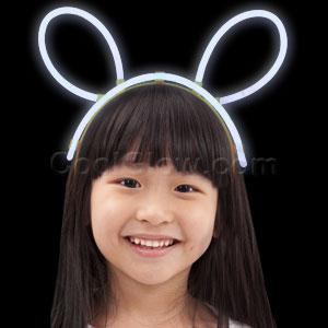 Glow Headband - White