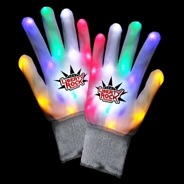 LED Rainbow Gloves