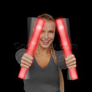 LED Foam Stick Baton Supreme - Red