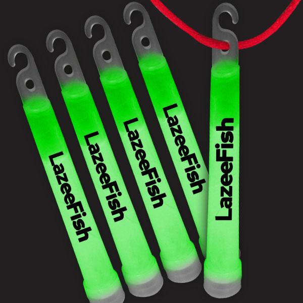 6 Inch Premium Glow Sticks - Green