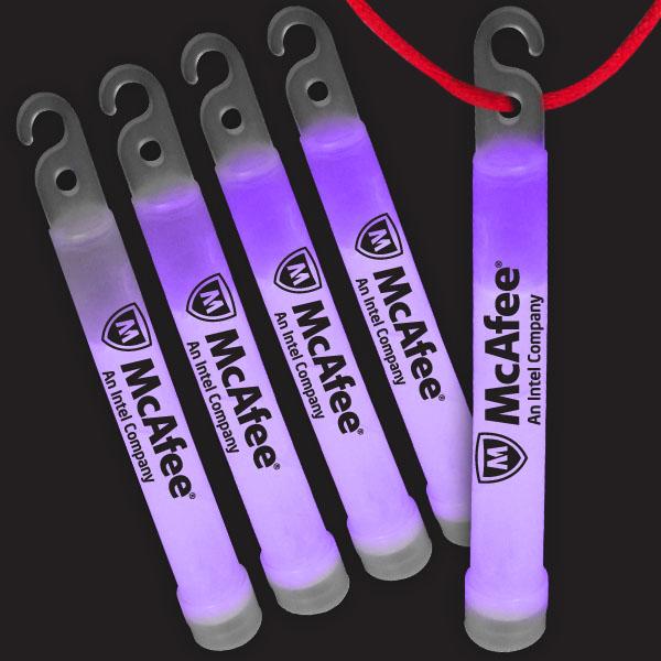 4 Inch Premium Glow Sticks - Purple