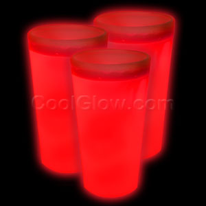 Glow Cup - Red - 21st Birthday Party Stuff