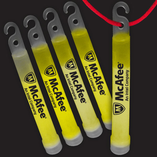 4 Inch Premium Glow Sticks - Yellow